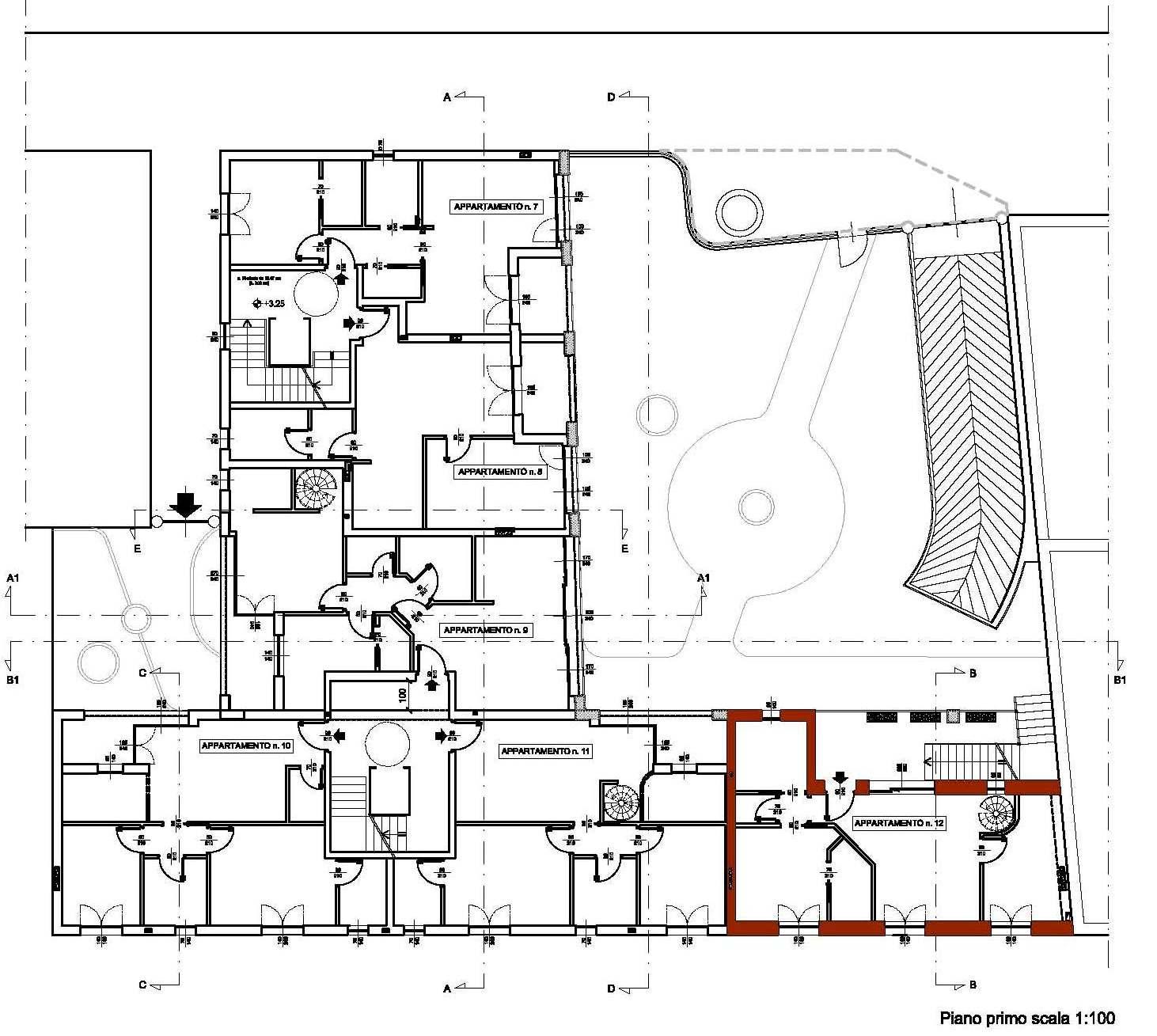 Varedo milano nuovo edificio residenziale archificio for Costo della costruzione dell edificio